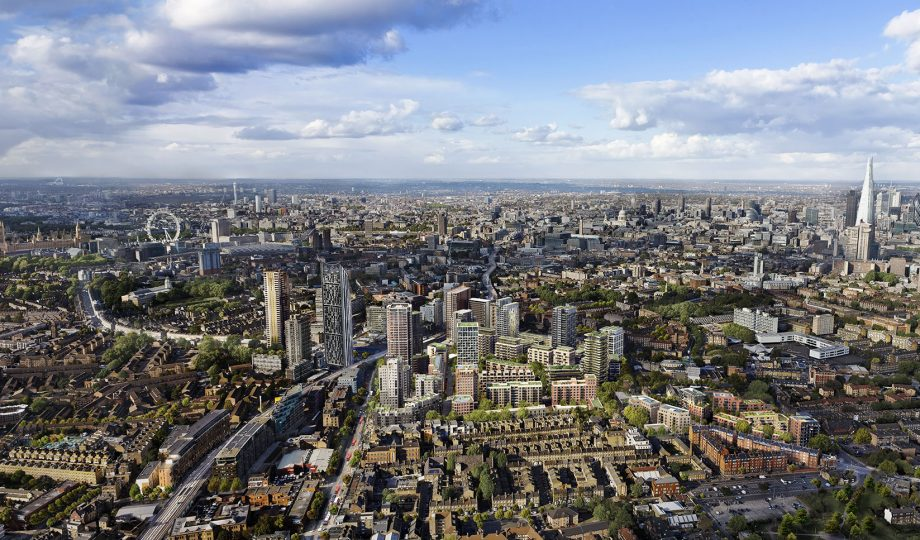 Elephant and Castle_0036_Aerial_D7574_Aerial_Masterplan_January 2015