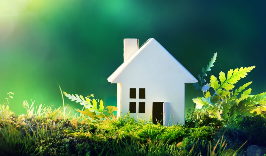 Eco friendly house - decarbonising UK homes