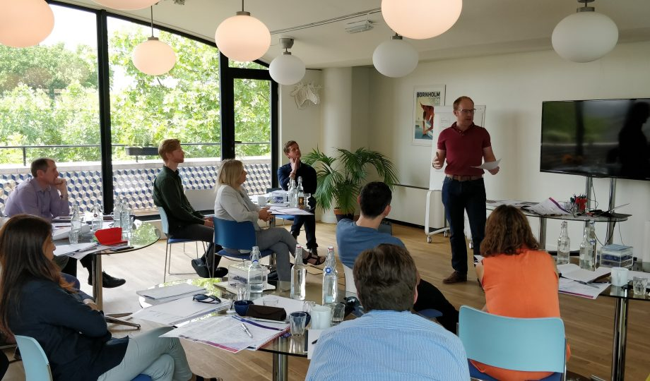 Change Accelerator programme presentations