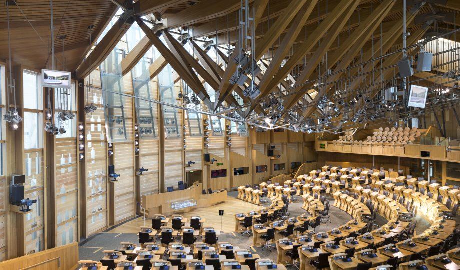 The Scottish Parliament, Scotland, UK